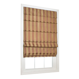 allen + roth Sienna Light Filtering Cordless Polyester Fabric Roman Shade (Common 23-in; Actual: 22.5-in x 72-in)