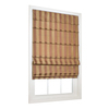 allen + roth 23-in W x 72-in L Sienna Light Filtering Fabric Roman Shade