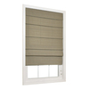 allen + roth 23-in W x 72-in L Thyme Light Filtering Fabric Roman Shade
