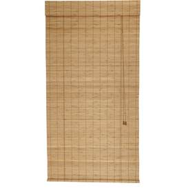 Shop Style Selections Spice Light Filtering Bamboo Roll Up Shade Common 36 I