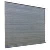 Style Selections Gray Light Filtering PVC Roll-Up Shade (Common 72-in; Actual: 72-in x 72-in)