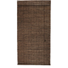 Style Selections Cocoa Light Filtering Bamboo Roll-Up Shade (Common 48-in; Actual: 48-in x 72-in)