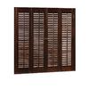 allen + roth 36-in L Colonial Mahogany Wood Interior Shutter