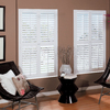 allen + roth 31-in to 33-in W x 48-in L Plantation White Faux Wood Interior Shutter