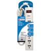 Utilitech 6-Outlet General Use Surge Protector (Auto-Off Safety)