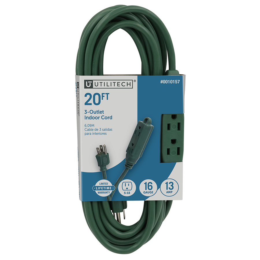 20 Ft indoor extension cord