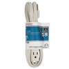 Utilitech 8-ft 3-Outlet 16-Gauge Indoor Extension Cord