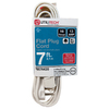 Utilitech 7-ft 3-Outlet 16-Gauge Indoor Extension Cord