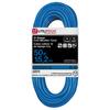 Utilitech 50-ft 15-Amp 14-Gauge Blue Outdoor Extension Cord