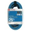 Utilitech 25-ft 15-Volt 12-Gauge Blue/Black Outdoor Extension Cord
