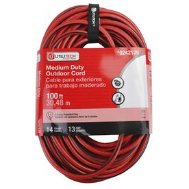 Utilitech 100-ft 14-Gauge Outdoor Extension Cord