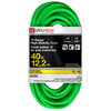 Utilitech 40-ft 12-Gauge Outdoor Contractor Extension Cord