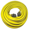 Utilitech 50-ft 20 110-Volt 10-Gauge Yellow Outdoor Extension Cord