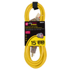 Utilitech 15-ft 12-Gauge Outdoor Extension Cord