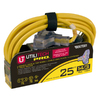 Utilitech 25-ft 3-Outlet 14-Gauge Outdoor Extension Cord