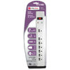 Utilitech 7-Outlet Home Entertainment Surge Protector (Auto-Off Safety)