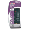 Utilitech 8-Outlet 4320 Joules Home Entertainment Surge Protector (Auto-Off Safety)