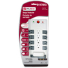 Utilitech 12-Outlet Home Entertainment Surge Protector (Auto-Off Safety)