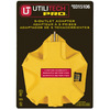 Utilitech Single-to-Triple Yellow 3-Wire Grounding Adapter
