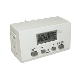 Utilitech 15-Amp 1-Outlet Digital Residential Plug-in Lighting Timer