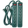 PRIME 6-Outlet Power Strip with Built-in Circuit Breaker