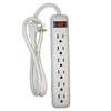 Utilitech 6-Outlet Power Strip with Built-in Circuit Breaker