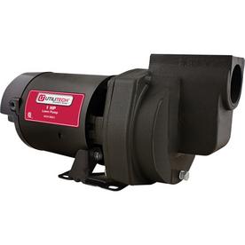 Utilitech 1.5-HP Cast Iron Lawn Pump