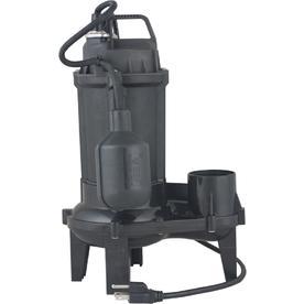 Utilitech 0.33-HP Cast Iron Sewage Sump Pump