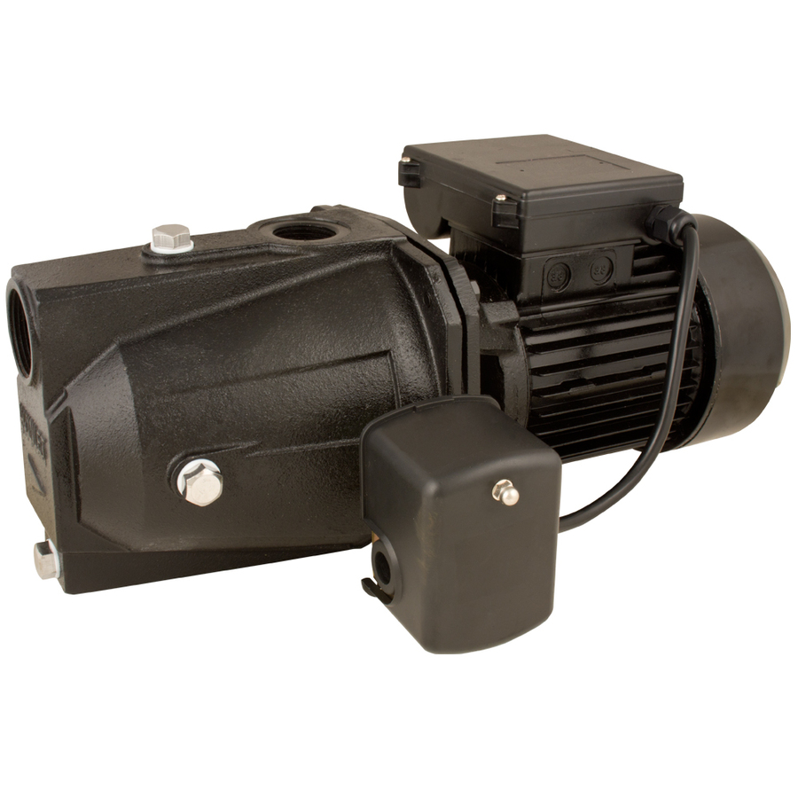 Shop utilitech 1 hp cast iron shallow well jet pump at for Jet motor pumps price