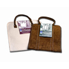 9-in x 9-in x 1.5-in Canvas Log Tote