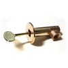 Blue Flame Polished Brass 1/2-in Angled Gas Valve Kit
