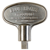 Blue Flame Universal 8-in Pewter Gas Valve Key