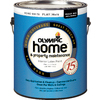 Olympic White Flat Latex Interior Paint (Actual Net Contents: 124 Fluid Oz.)