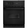 Frigidaire 24-in Self-Cleaning Single Electric Wall Oven (Black)