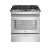 Frigidaire Professional 30-in 4.2-cu ft Self-Cleaning Slide-In Convection Gas Range (Stainless)