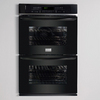 Frigidaire Gallery 27-in Self-Cleaning Convection Double Electric Wall Oven (Black)