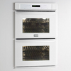 Frigidaire Gallery 30-in Self-Cleaning Convection Double Electric Wall Oven (White)