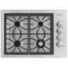 Frigidaire Professional 30-in 4-Burner Gas Cooktop (Stainless)