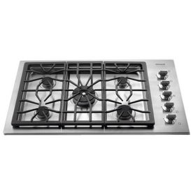Frigidaire Professional 36-in 5-Burner Gas Cooktop (Stainless)