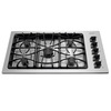 Frigidaire Gallery 36-in 5-Burner Gas Cooktop (Stainless)