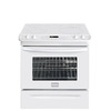 Frigidaire Gallery 30-in Smooth Surface 5-Element 4.2 cu ft Self-Cleaning Slide-In Convection Electric Range (White)