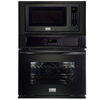 Frigidaire Gallery 30-in Self-Cleaning Microwave Wall Oven Combo (Black)