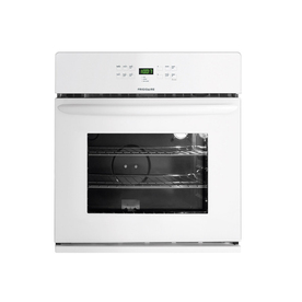 Frigidaire 30-in Self-Cleaning Single Electric Wall Oven (White)