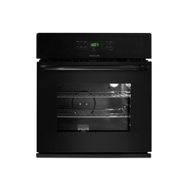 Frigidaire 30-in Self-Cleaning Single Electric Wall Oven (Black)