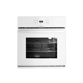 Frigidaire 27-in Self-Cleaning Single Electric Wall Oven (White)