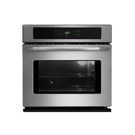 Frigidaire 27-in Self-Cleaning Single Electric Wall Oven (Stainless)