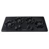Frigidaire 4-Burner Gas Cooktop (Black) (Common: 36-in; Actual: 36-in)