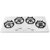 Frigidaire 4-Burner Gas Cooktop (White) (Common: 36-in; Actual: 36-in)