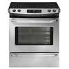 Frigidaire 30-in Smooth Surface 4.2 cu ft Self-Cleaning Slide-In Electric Range (Stainless)