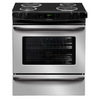 Frigidaire 30-in 4.2 cu ft Self-Cleaning Slide-In Electric Range (Stainless)